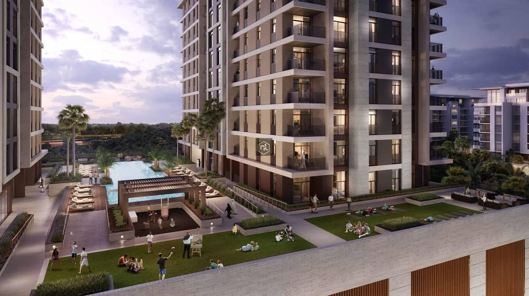 2 1BHK with eye catching view and perfect payment plan