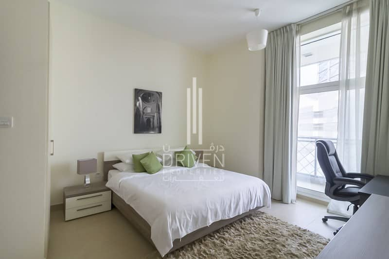 Fully Furnished 1 BR with Balcony for Rent