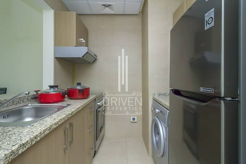 20 Fully Furnished 1 BR with Balcony for Rent