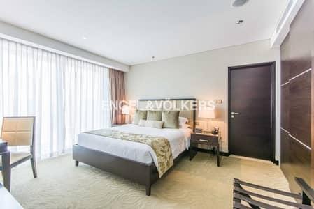 فلیٹ 1 غرفة نوم للايجار في دبي مارينا، دبي - High Floor|Furnished|Prime Location| Vacant
