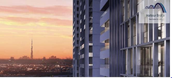 استوديو  للبيع في دائرة قرية جميرا JVC، دبي - Extravagant Studio Apt. | Pool View  Bloom Towers JVC