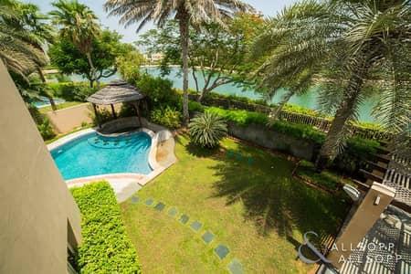 فیلا 5 غرفة نوم للبيع في السهول، دبي - Full Lake Views | Private Pool | Vacant