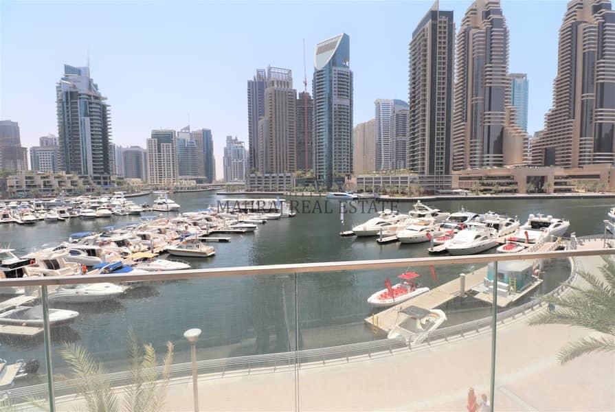 Full Marina View | Vacant | Spacious | Bright