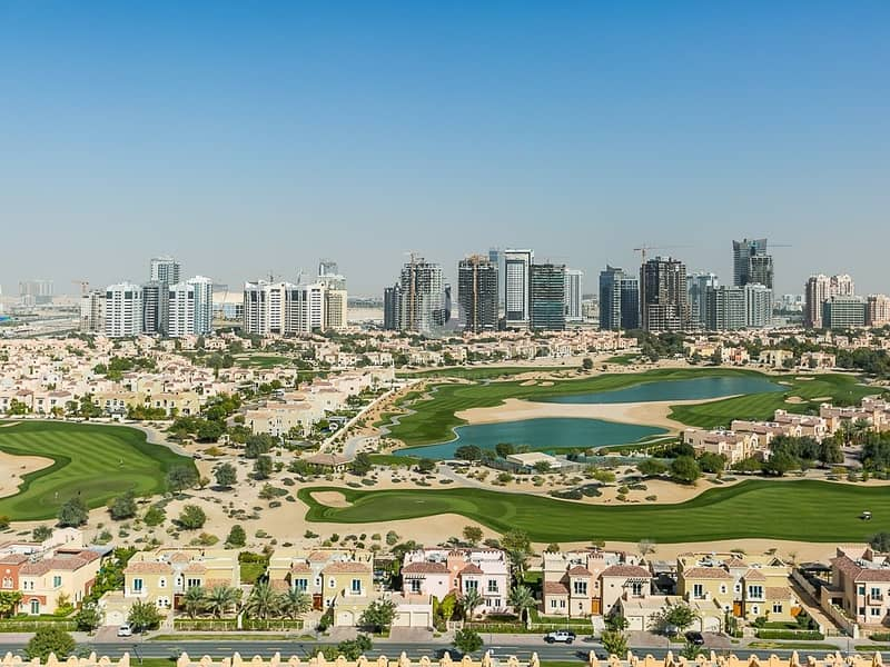 Furnished Property for rent with golf course view