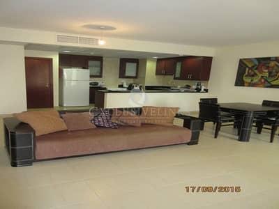 فلیٹ 1 غرفة نوم للايجار في مساكن شاطئ جميرا (JBR)، دبي - High floor Marina views 1 bed for rent in Murjan 2