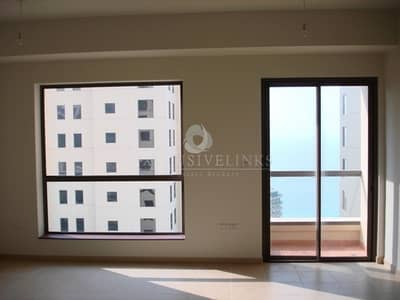 1 Bedroom Apartment for Rent in Jumeirah Beach Residence (JBR), Dubai - 1 bedroom apartment for rent with superb sea views