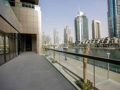 محل تجاري  للايجار في دبي مارينا، دبي - Superb Marina Facing Coffee Shop to Rent