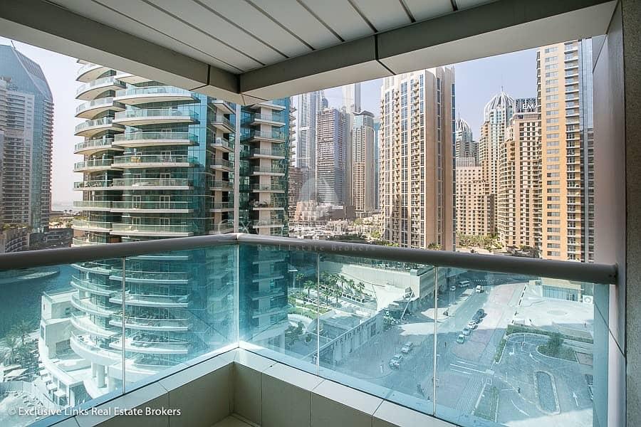 10 2 bedroom Marina view apartment close to metro