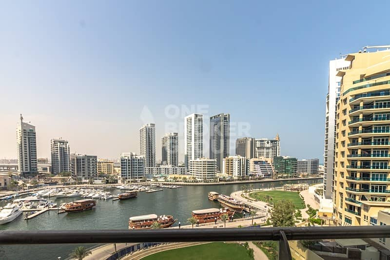 Full Marina view|Mid floor| Close to Metro & Tram