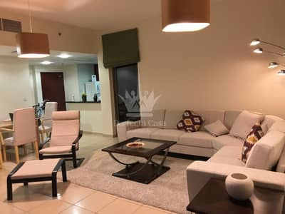 Fully Furnished 1 BR | Shams |  Marina View