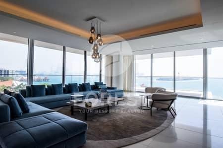 بنتهاوس 3 غرفة نوم للبيع في نخلة جميرا، دبي - Elegant Penthouse with Full Sea View in Serenia