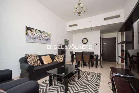 فلیٹ 1 غرفة نوم للبيع في مدينة دبي الرياضية، دبي - Fully Furnished|Community View|High Floor