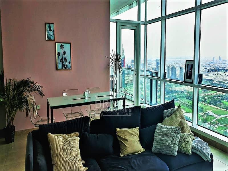 Huge 2 Bedroom Plus study   Golf & Marina View
