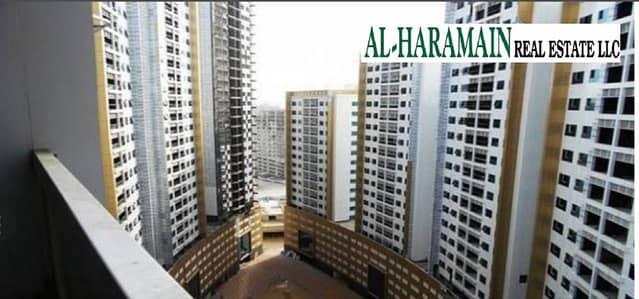 فلیٹ 1 غرفة نوم للايجار في عجمان وسط المدينة، عجمان - غرفة و صالة مع حمامين للايجار في الؤلؤة عجمان