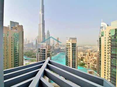 شقة 2 غرفة نوم للبيع في وسط مدينة دبي، دبي - 2Bed | Full Burj Khalifa & Fountain View
