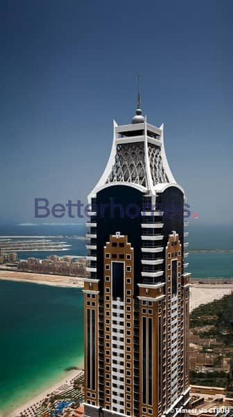 Full sea view 2 BR in Elite residence