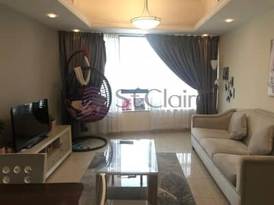فلیٹ 1 غرفة نوم للايجار في أبراج بحيرات جميرا، دبي - Fully Furnished 1 Bed   Near Metro   Low Floor
