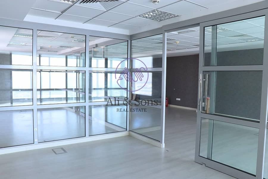 10 ONE DAY DEAL get your fitted office for AED 100/sq.ft all inclusive direct from the owner