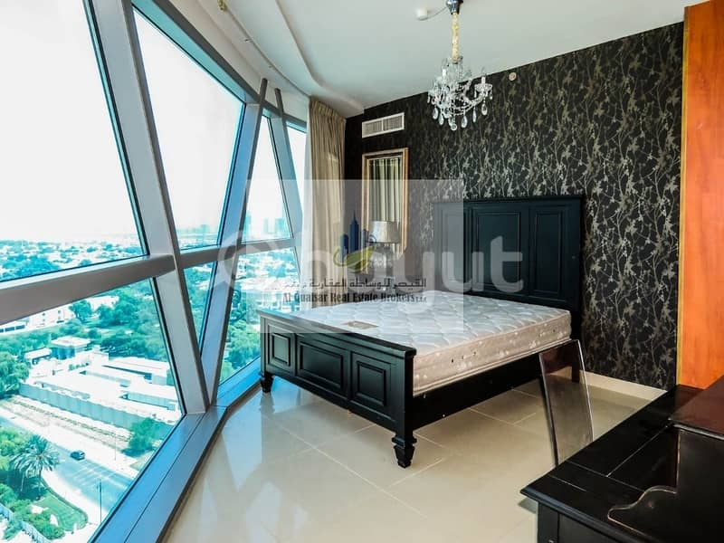 2 FULLY FURNISHED 3 BEDROOM APARTMENT with MAID ROOM   STORE AND BALCONY
