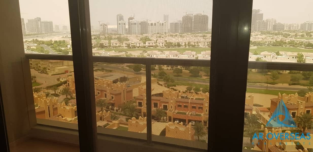 Fully Furnished| Golf View| 3Br in Elite 8-Sports City| @85K