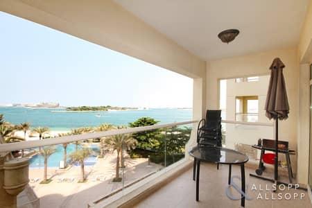 شقة 2 غرفة نوم للبيع في نخلة جميرا، دبي - Full Sea View | Two Bedroom Apt | Vacant