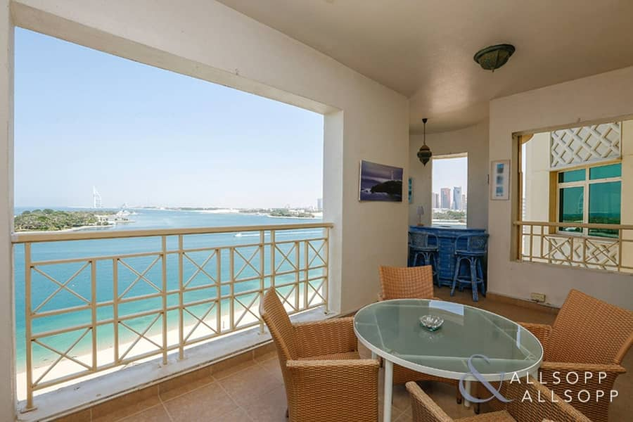 Full Sea And Burj View | F Type | 2 Bed