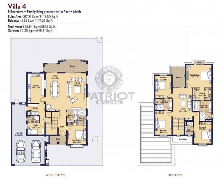17 Book Spacious 3 Bed+Maid Room at La Quinta | Limited Units