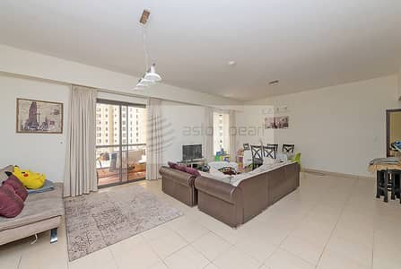 1 Bedroom Flat for Rent in Jumeirah Beach Residence (JBR), Dubai - Huge One Bedroom Apartment | Close to The Beach