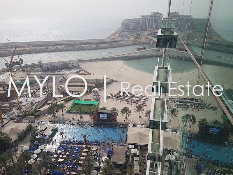 Brand New 3 Bed Sea View I Vacant in JBR
