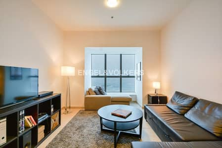 1 Bedroom Flat for Rent in Dubai Marina, Dubai - Furnished|03 Series|Full Sea View|Vacant