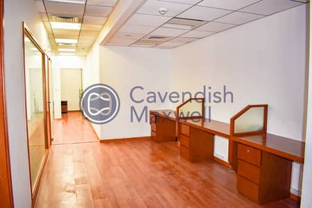 Office for Rent in Sheikh Zayed Road, Dubai - Semi- Furnished Unit I Low Floor I SZR