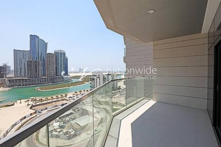 3 Bedroom Apartment for Rent in Al Reem Island, Abu Dhabi - Sea View ! 0 Commission + 1 Month Free + Kitchen Appliances