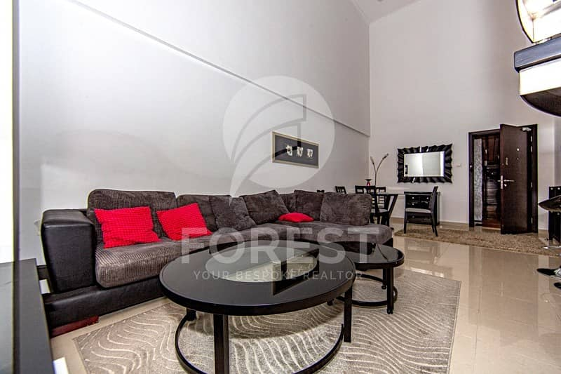 11 Fully Furnished 1 Bedroom Duplex with Private Terrace