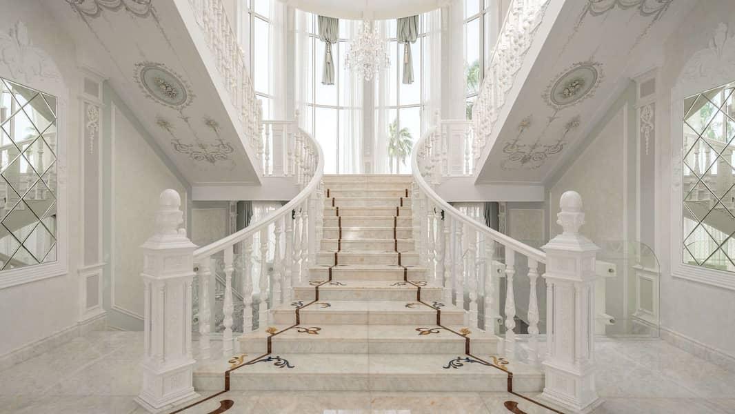2 Stunning Regency Style Villa on Pearl Jumeriah.