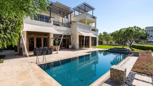 6 Bedroom Villa for Sale in Al Barari, Dubai - Mediterranean Design | Lake View | Quiet Neighbourhood