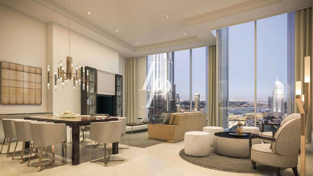 2 Full Fountain View  Finest Apartment Opera District