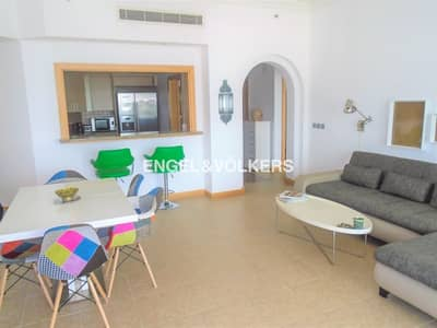 2 Bedroom Apartment for Rent in Palm Jumeirah, Dubai - Sea View | Type D Unit | Fully Furnished