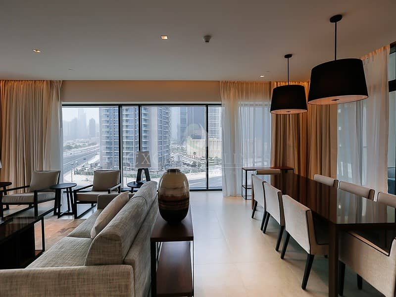 2 Brand New Furnished  2 bedroom in Vida Hotel