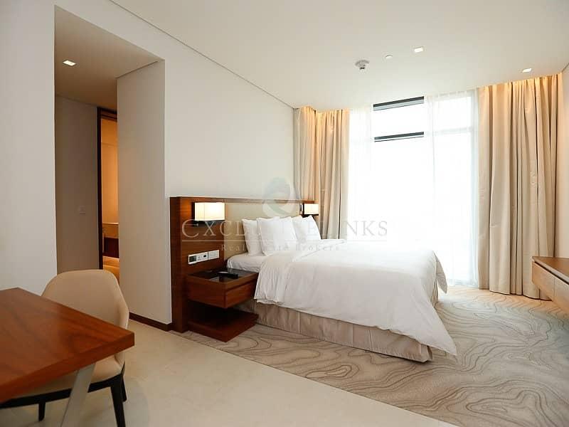 10 Brand New Furnished  2 bedroom in Vida Hotel