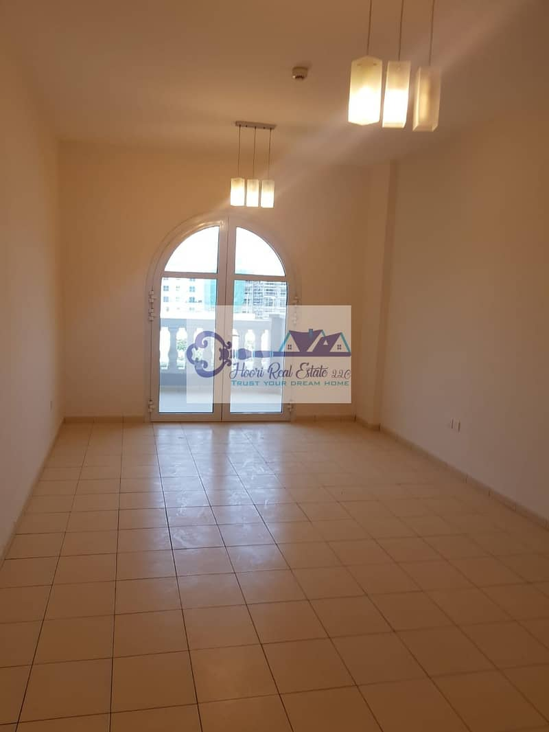 2 LAVISH! LARGE 1 BEDROOM WITH BALCONY FOR RENT IN JVC @40K