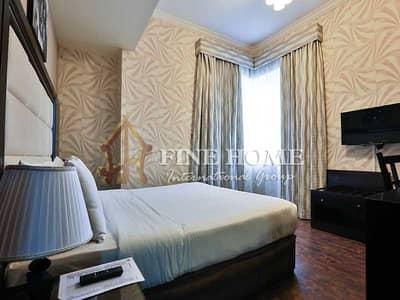 فلیٹ 1 غرفة نوم للايجار في المرور، أبوظبي - Elegant Furnished 1bedroom Apartment