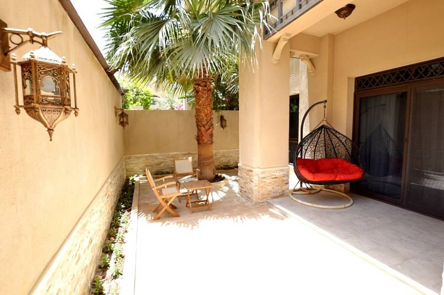 UNIQUE OPPORTUNITY TO RENT A 1BR GARDEN HOUSE ON OLD TOWN, DOWNTOWN DUBAI!!!