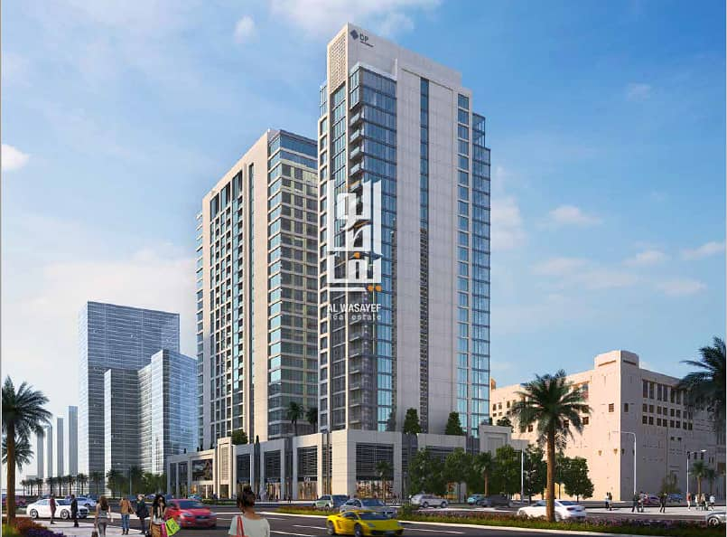 Luxurious 2 BR in Downtown with 7 years  installments