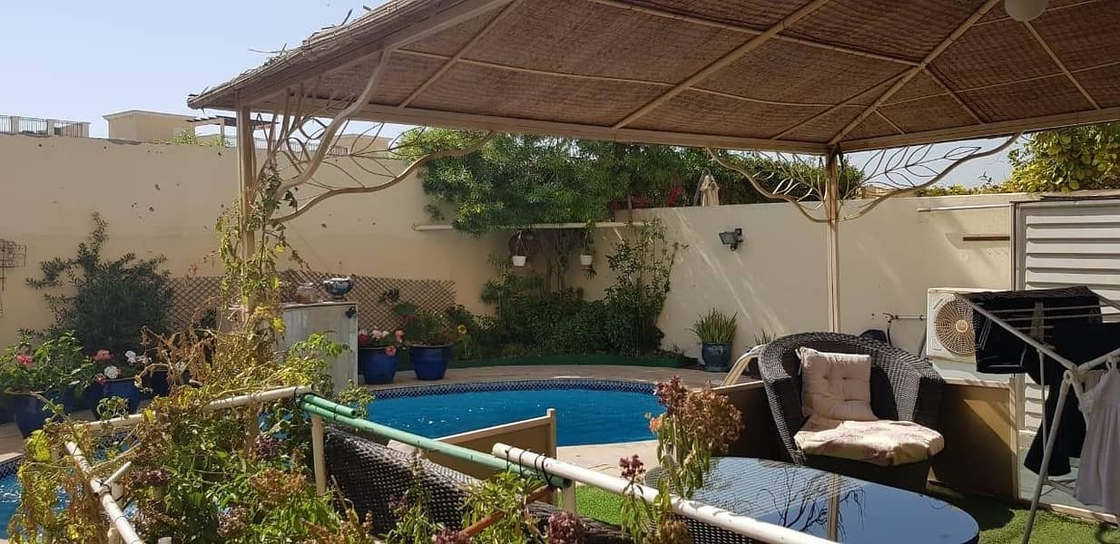 14 3 BR upgraded villa with a pool for sale