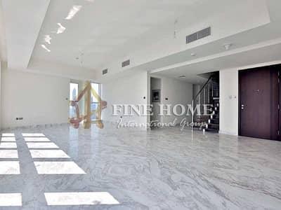 فلیٹ 5 غرفة نوم للايجار في منطقة الكورنيش، أبوظبي - Duplex Sae View 5BR+M Apartment