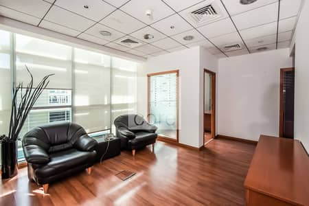 Office for Rent in Sheikh Zayed Road, Dubai - Fitted and Partitioned | Chiller Included
