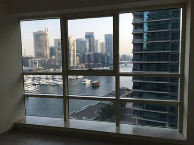 1 Bedroom Apartment for Rent in Dubai Marina, Dubai - Marina View | 1BR in Marina Quay West