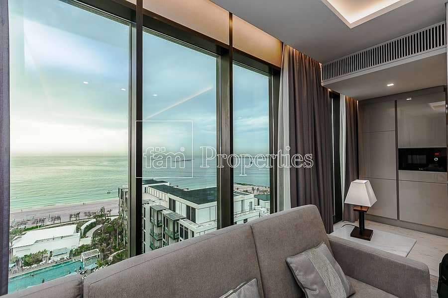12 Furnished 3BED| Sea View | Beach access