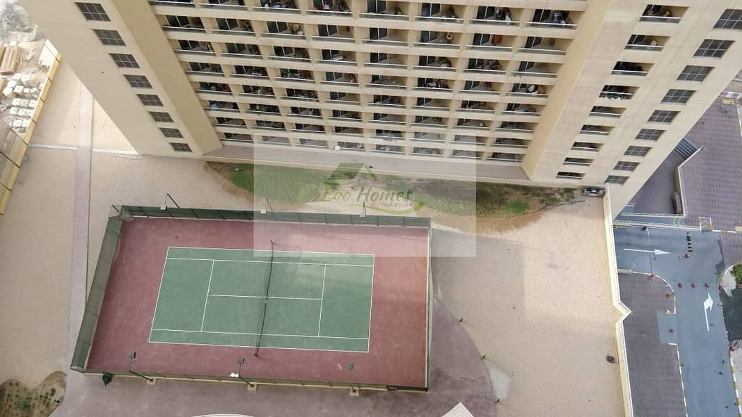 Well maintained Studio Pool View High Floor