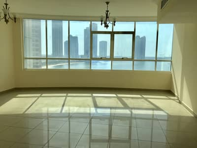 Sea view 3Bhk with Maid room. Just 52k free parking + one month mamzer